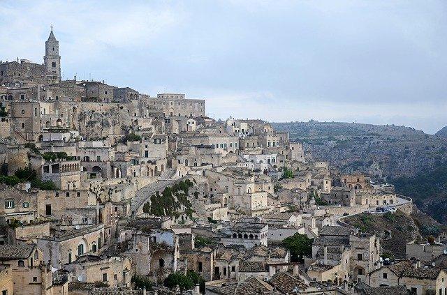 Matera v Itálii