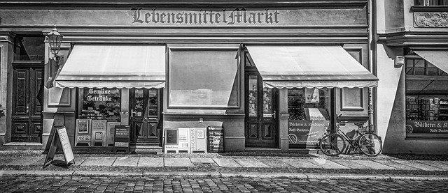 obchod v Berlíně