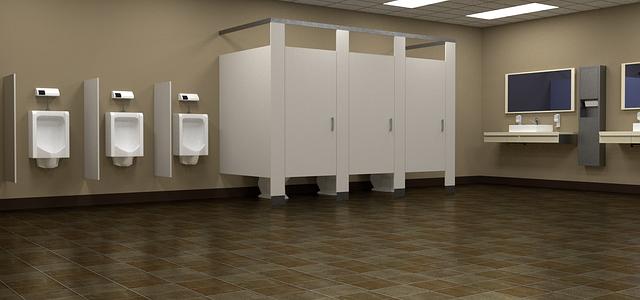 toaleta muži