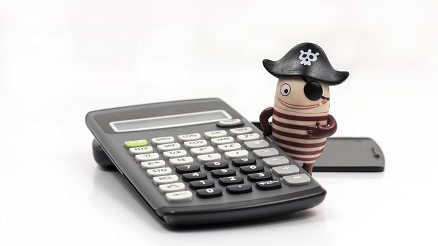 kalkulačka a pirát