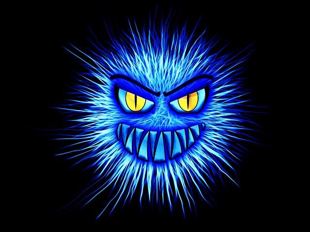 modrý vir