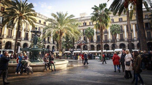 náměstí Barcelony