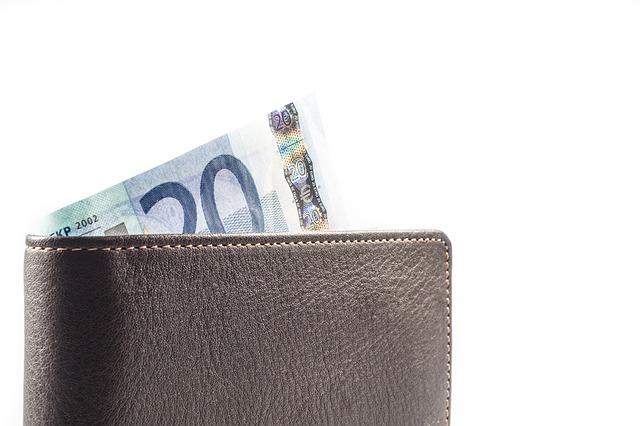 peněženka, peníze