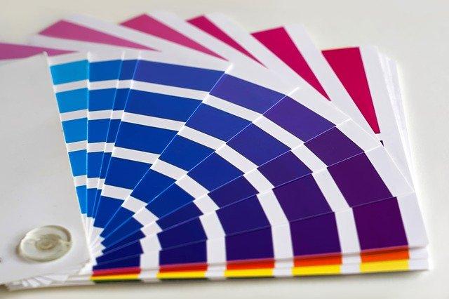 barevný vzorník