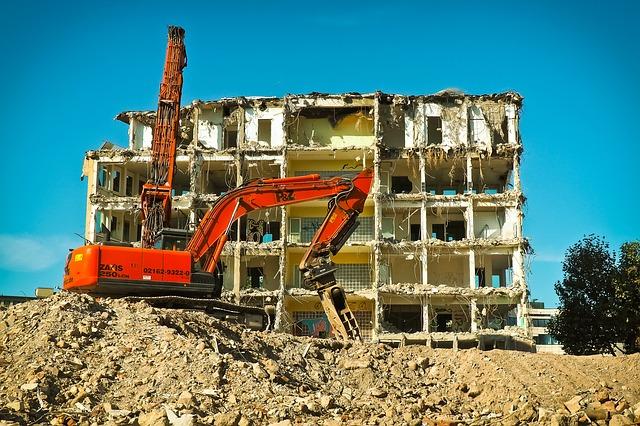 práce na stavbě