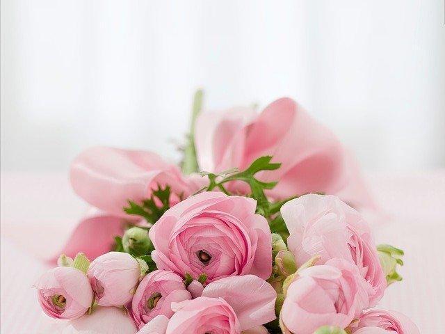 nachystané květiny
