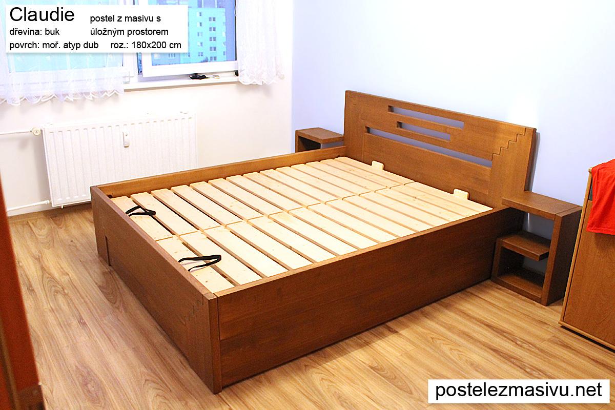 postel-z-masivu-s-uloznym-prostorem_Claudie-180x200-buk-mor-dub_